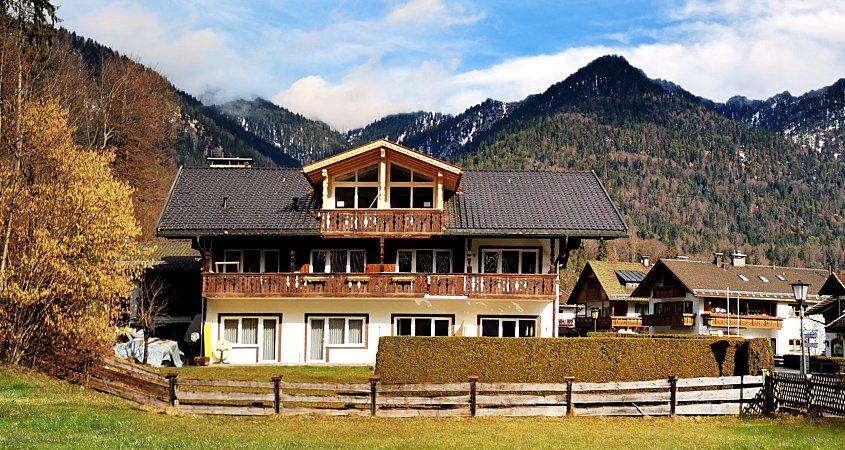 Modern apartments in Grainau