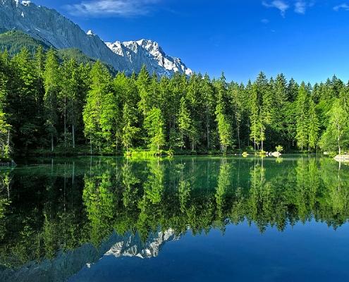 See in den Alpen
