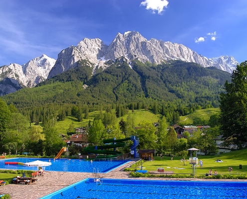 Schwimmen in Grainau