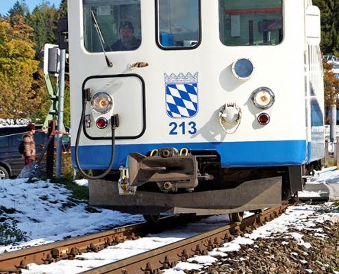 Bahn von Grainau